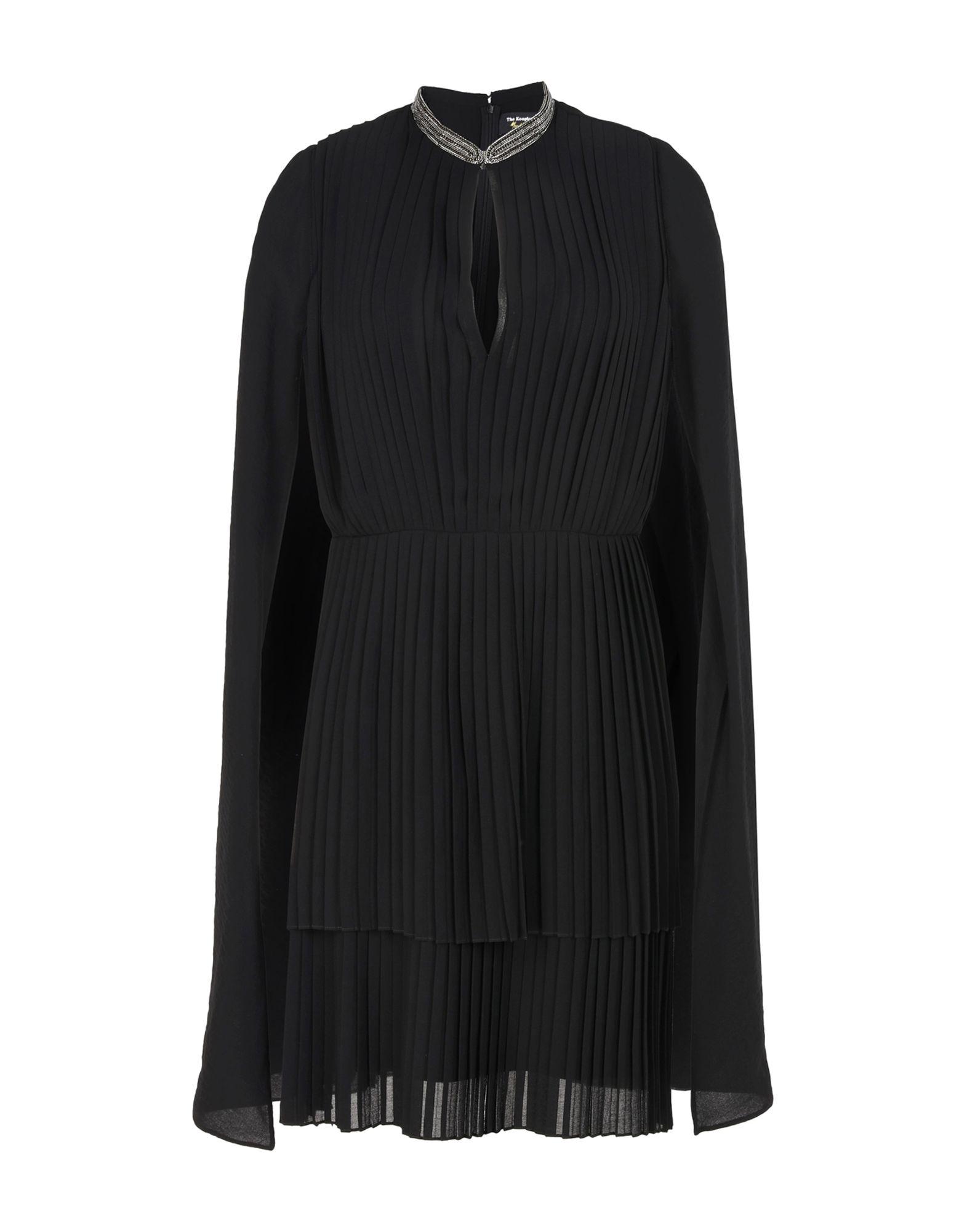 THE KOOPLES Damen Kurzes Kleid Farbe Schwarz Größe 2