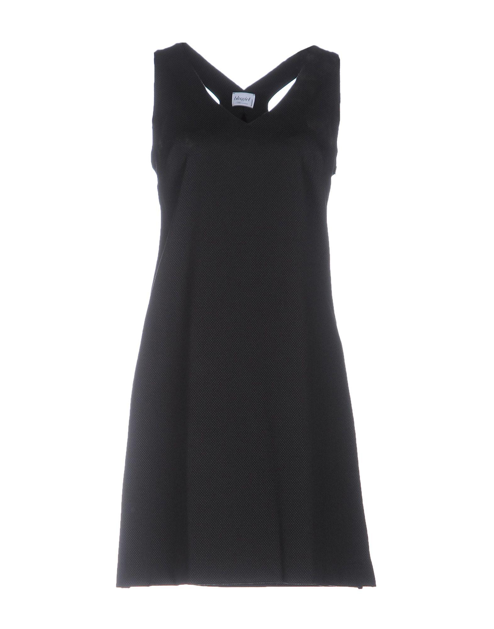 BLUGIRL BLUMARINE Короткое платье blugirl платье с принтом