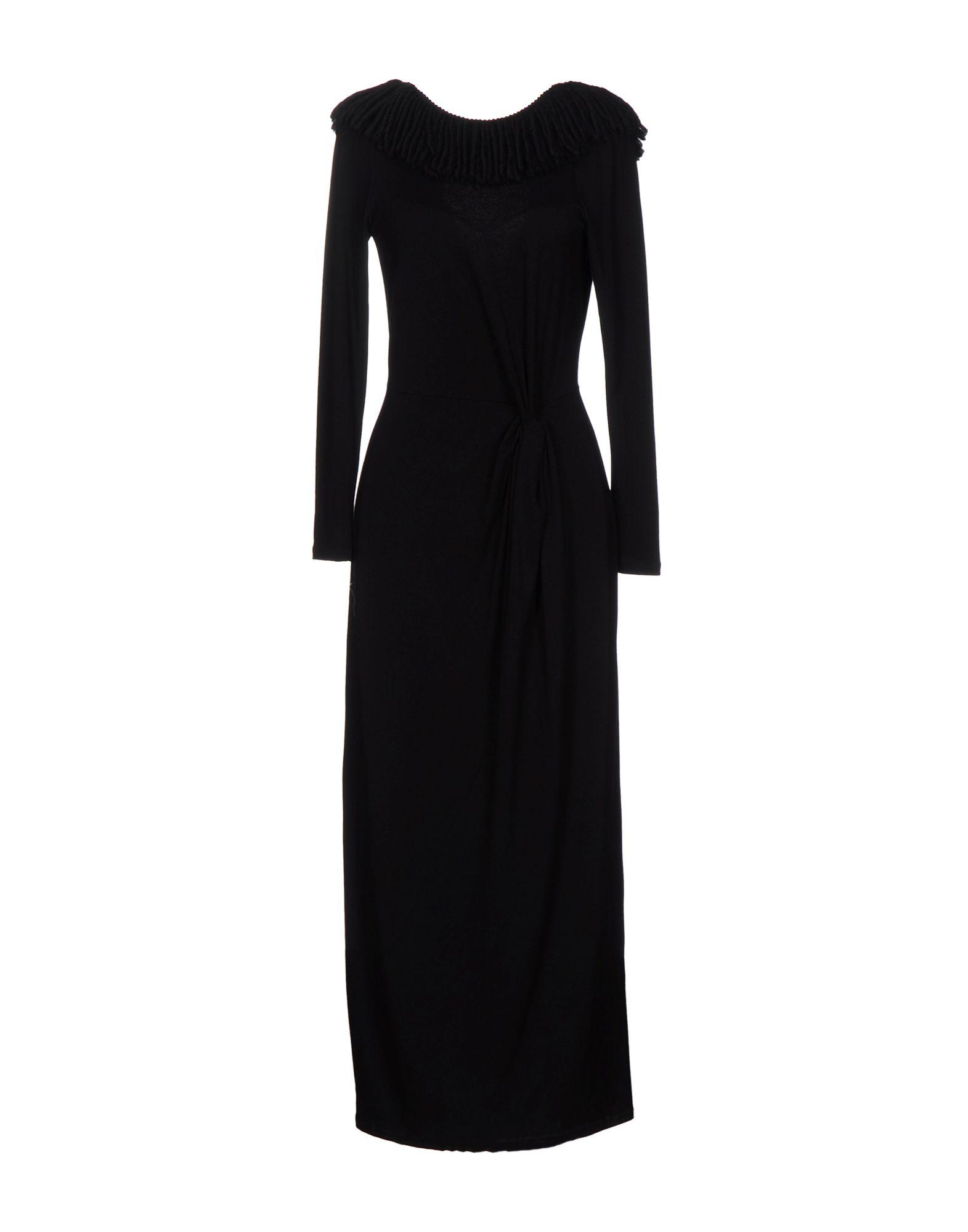 LE RAGAZZE DI ST. BARTH Платье длиной 3/4 le ragazze di st barth короткое платье