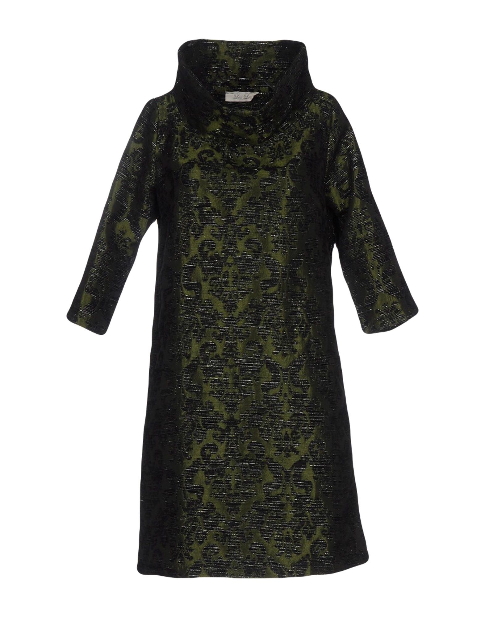 LOU LONDON Damen Kurzes Kleid Farbe Militärgrün Größe 5