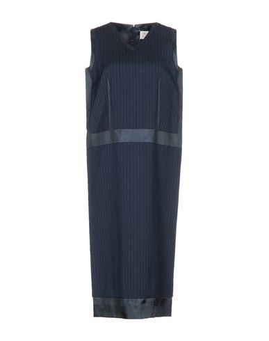 Купить Платье длиной 3/4 грифельно-синего цвета