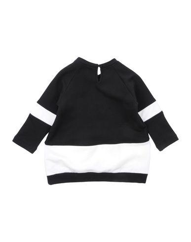 PATRIZIA PEPE Baby Kleid Schwarz Größe 6 95% Baumwolle 5% Elastan