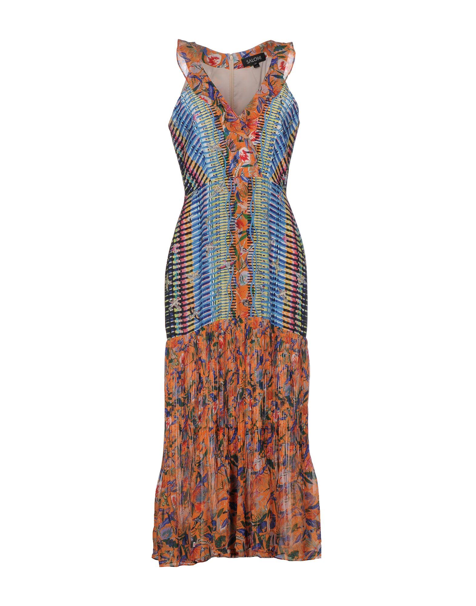 SALONI Платье длиной 3/4 lisa corti платье длиной 3 4