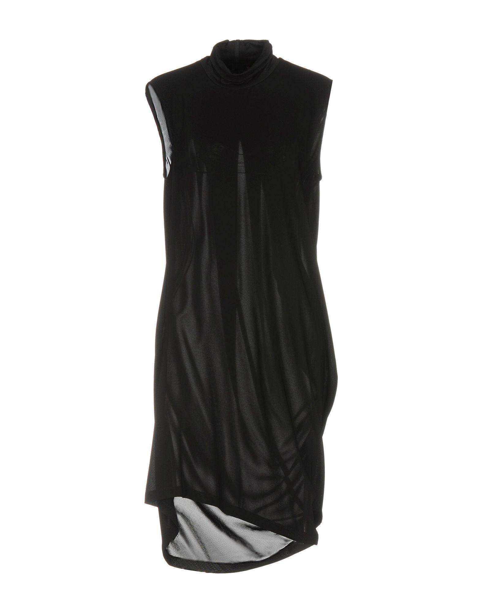 DONNA KARAN Короткое платье donna karan топ без рукавов