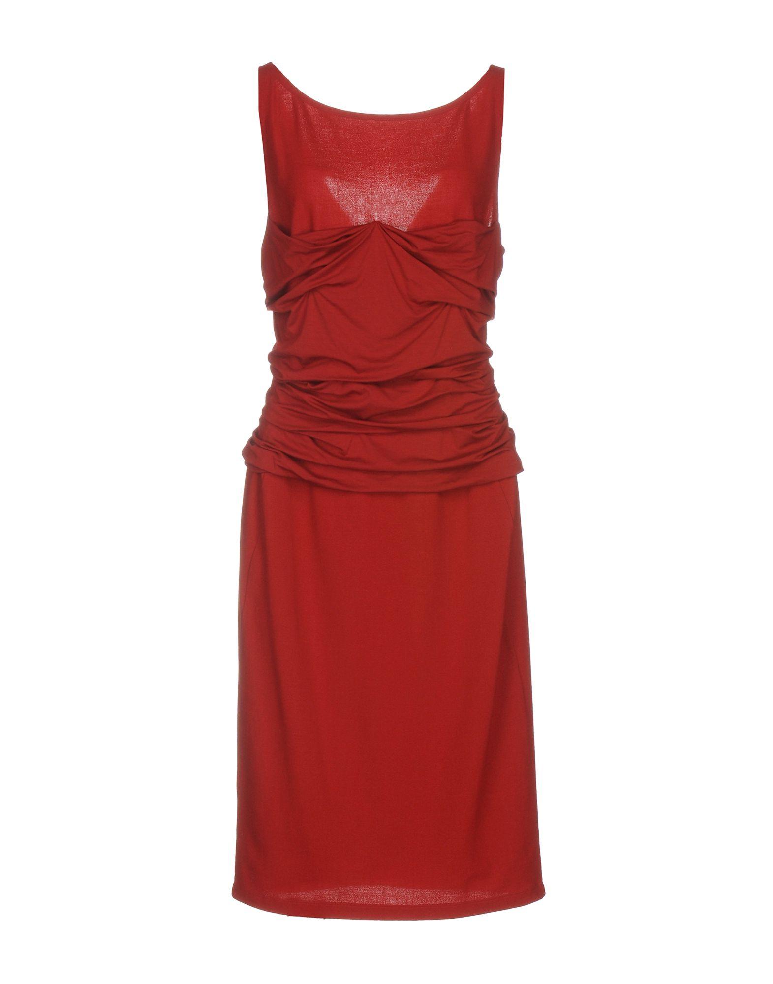 цена  DONNA KARAN Платье до колена  онлайн в 2017 году