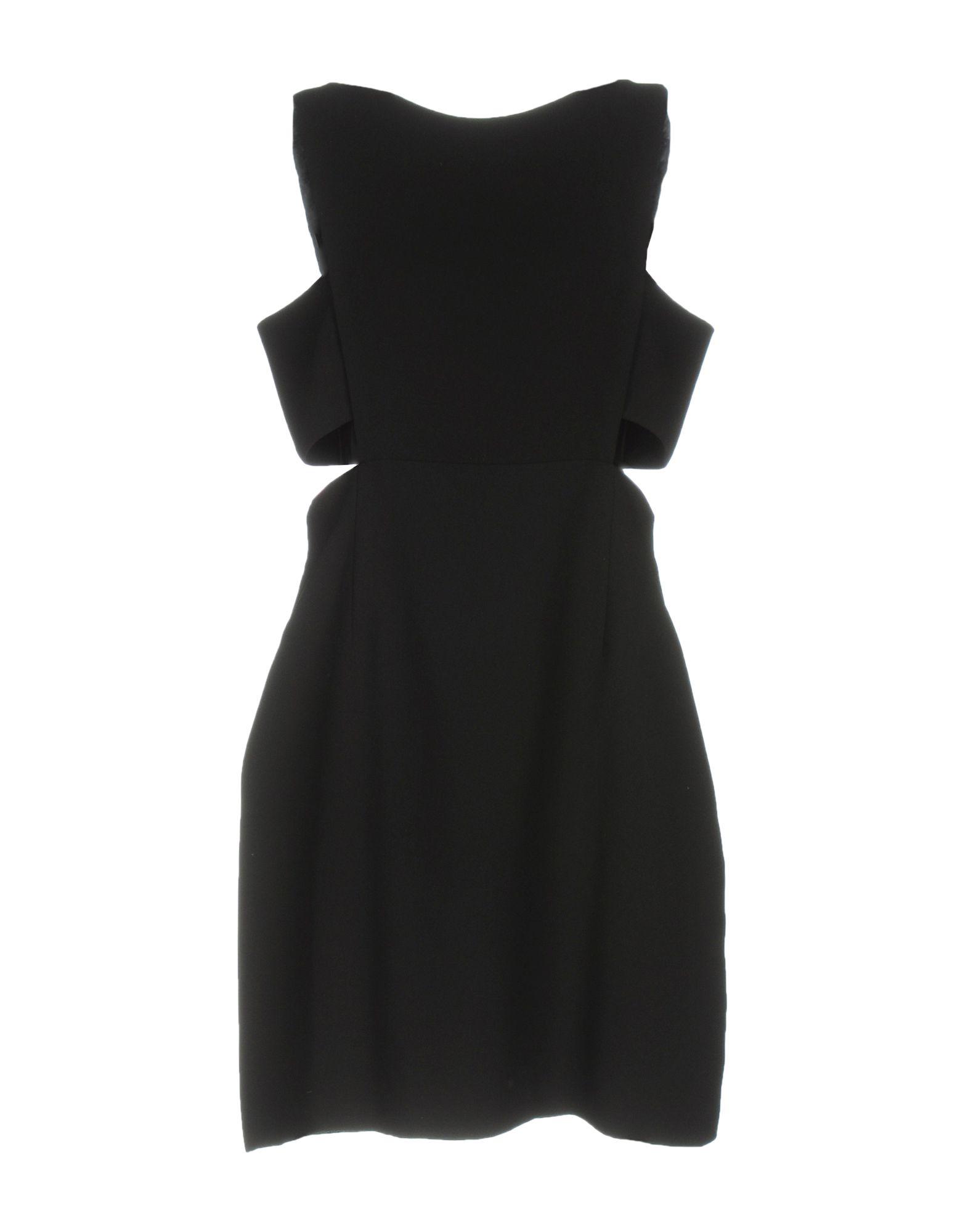 《送料無料》JILL STUART レディース ミニワンピース&ドレス ブラック 8 ポリエステル 100%