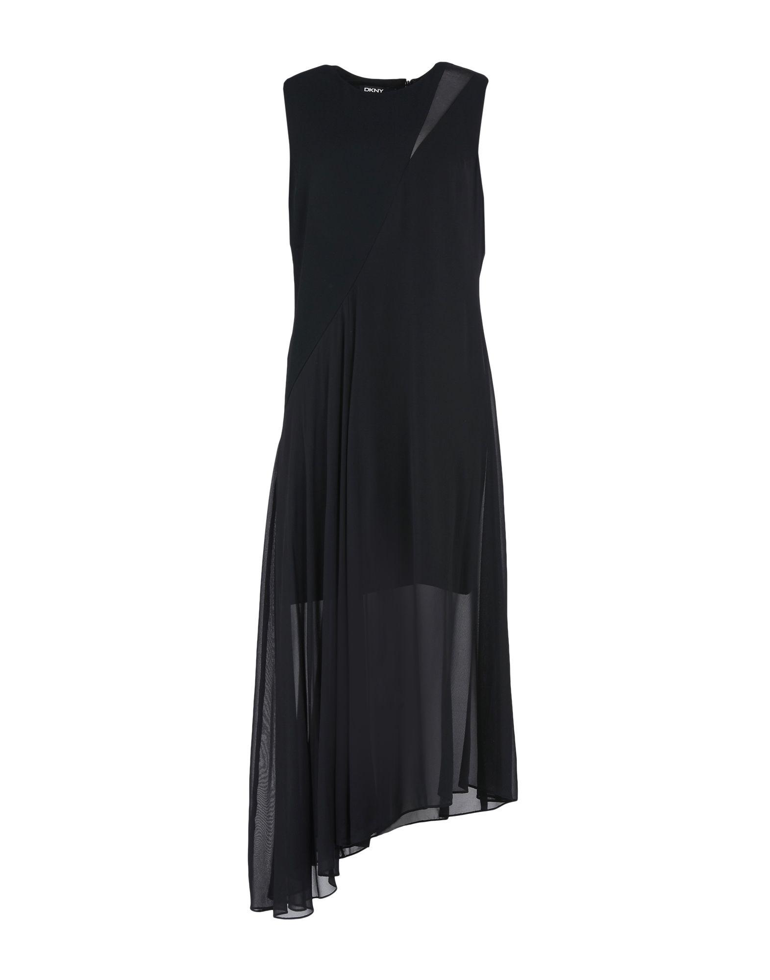 Фото - DKNY Длинное платье обувь на высокой платформе dkny
