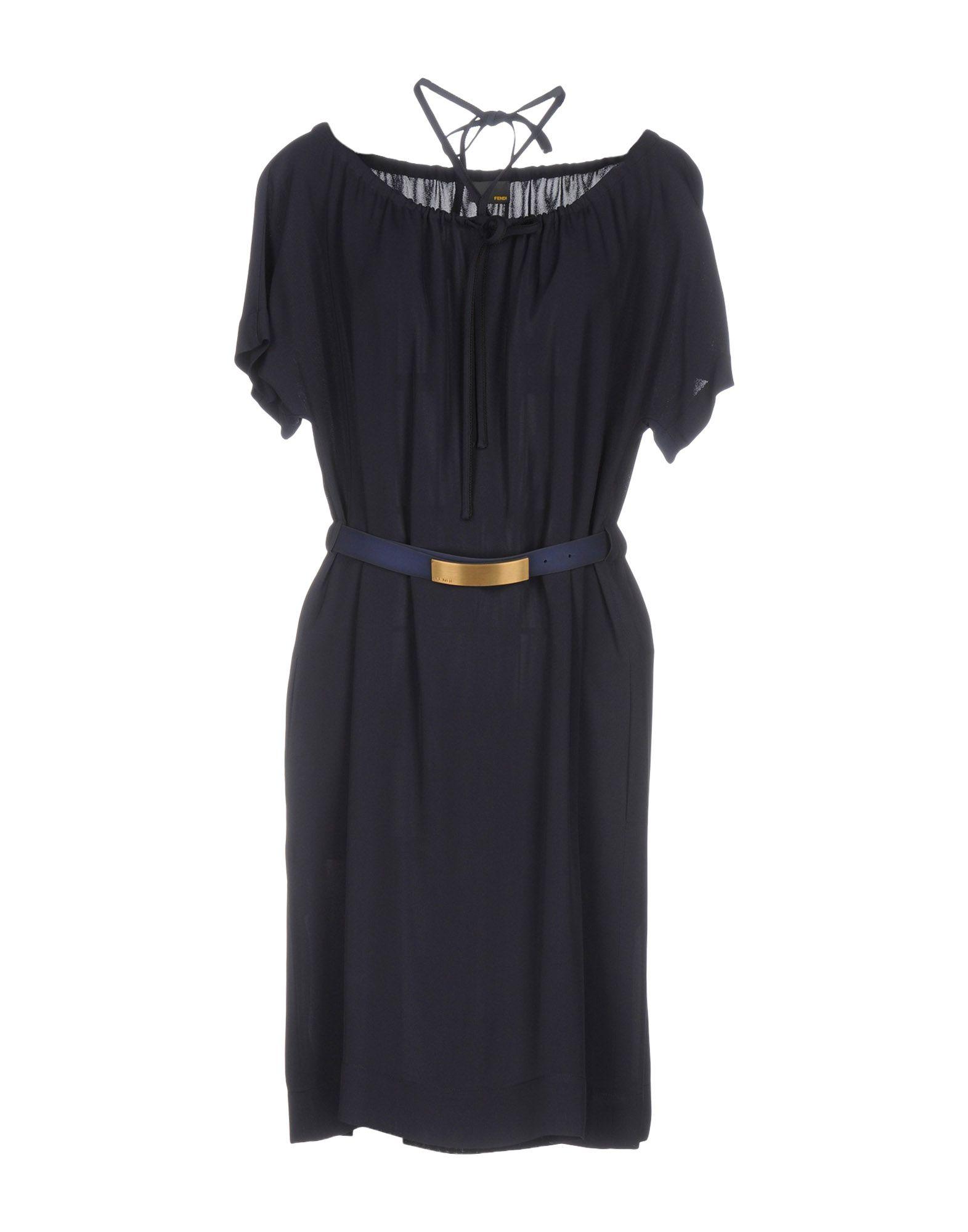 FENDI Короткое платье fendi ремень от fendi 99255