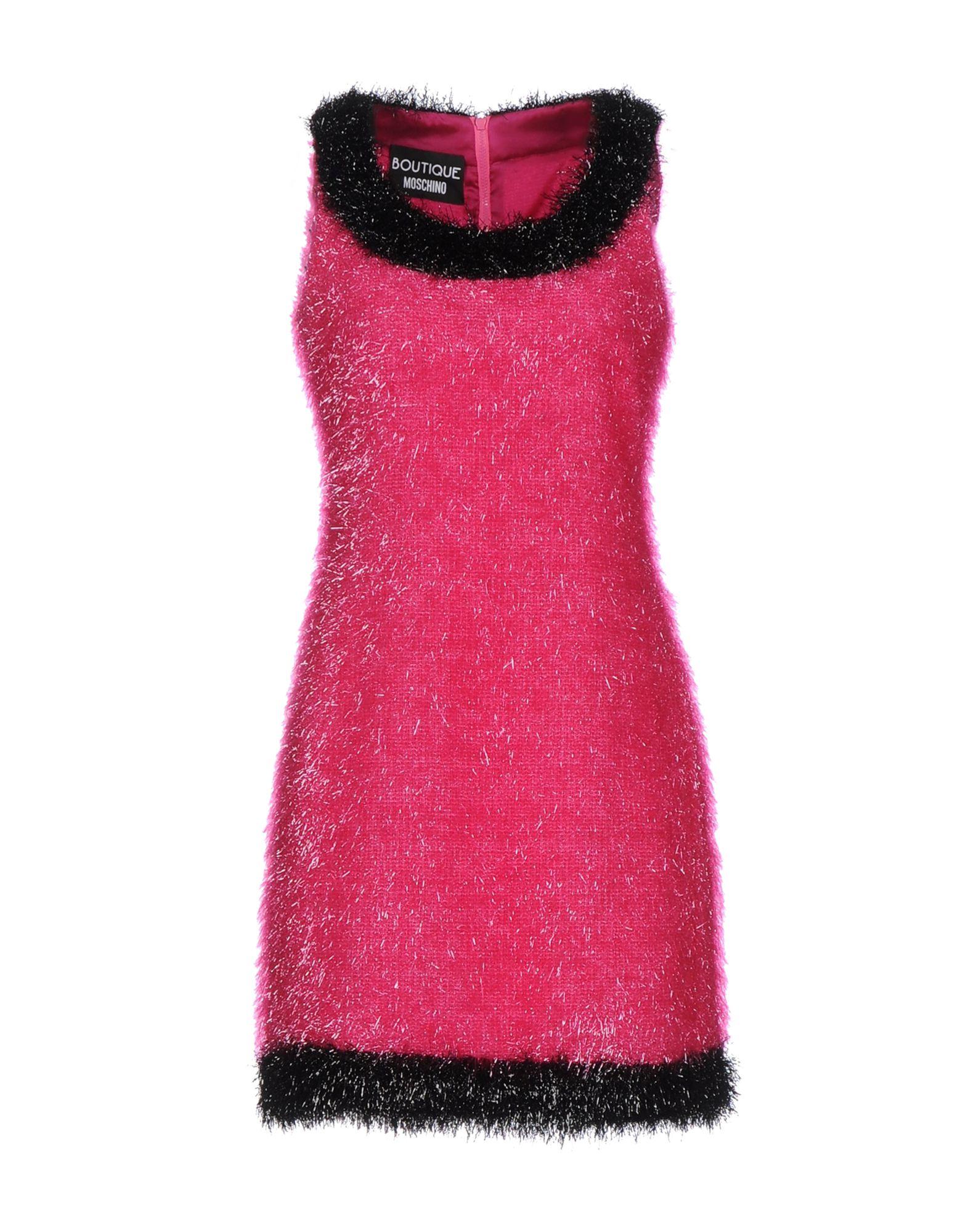 BOUTIQUE MOSCHINO Damen Kurzes Kleid Farbe Fuchsia Größe 5