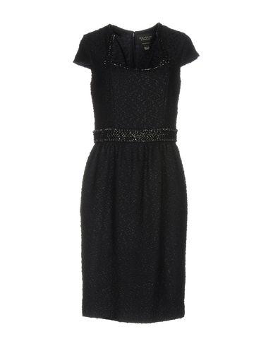 Купить Платье до колена от ST. JOHN COUTURE темно-синего цвета