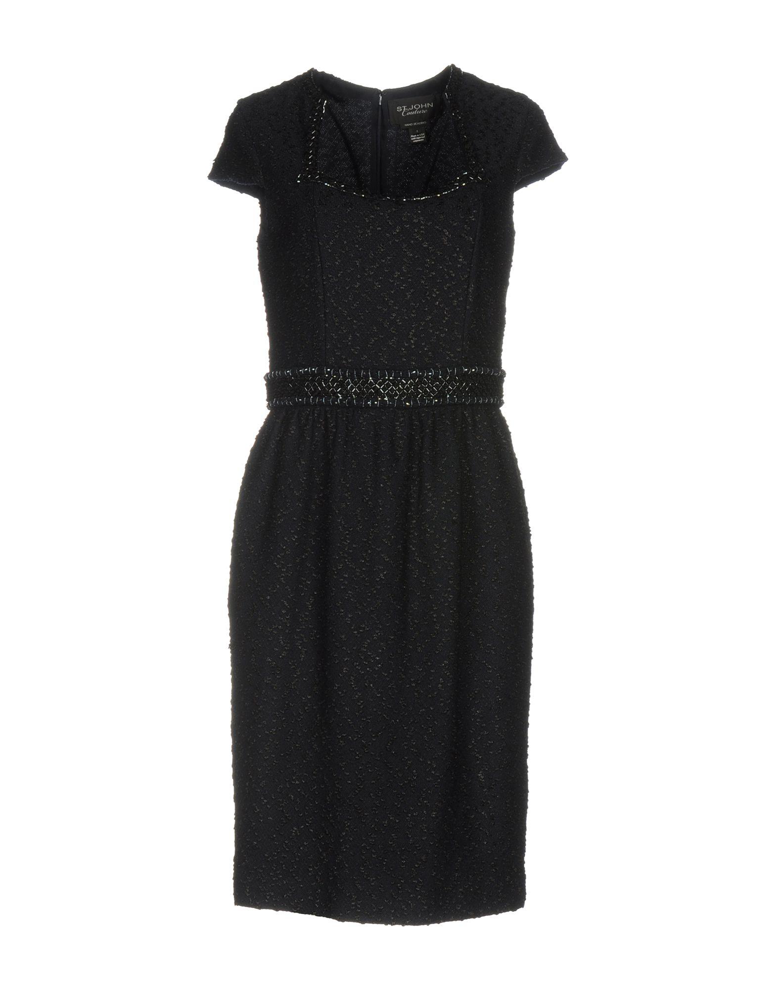 ST. JOHN COUTURE Платье до колена цена 2017