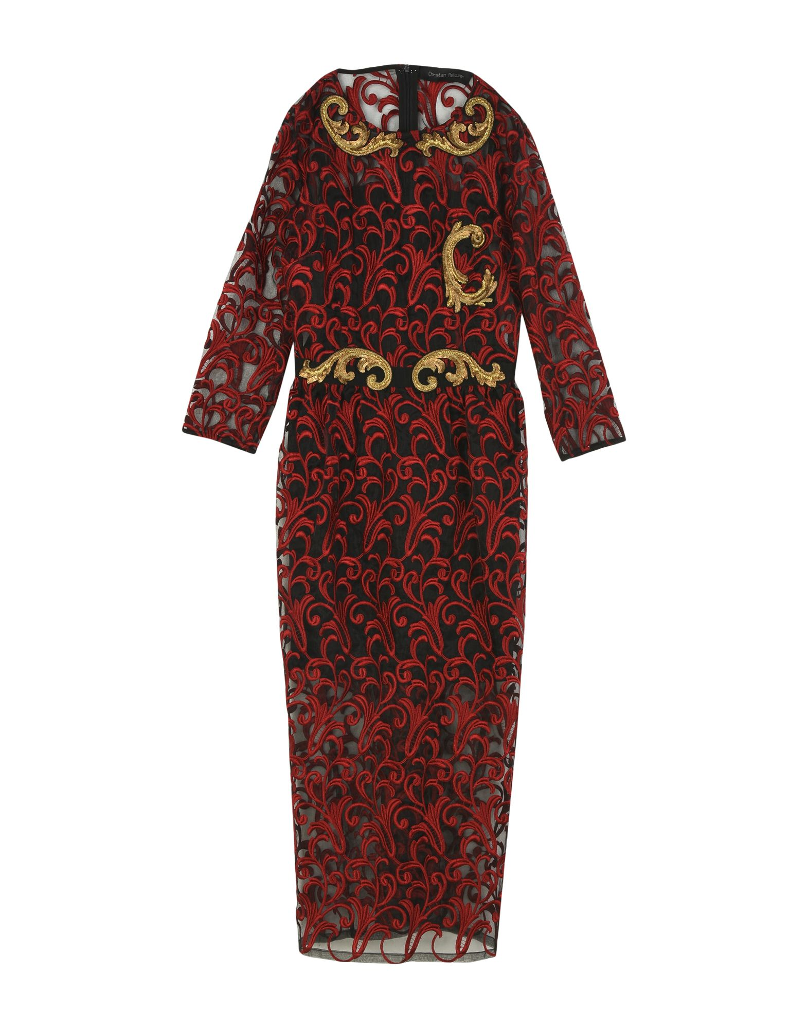 CHRISTIAN PELLIZZARI Платье длиной 3/4 christian pellizzari юбка длиной 3 4
