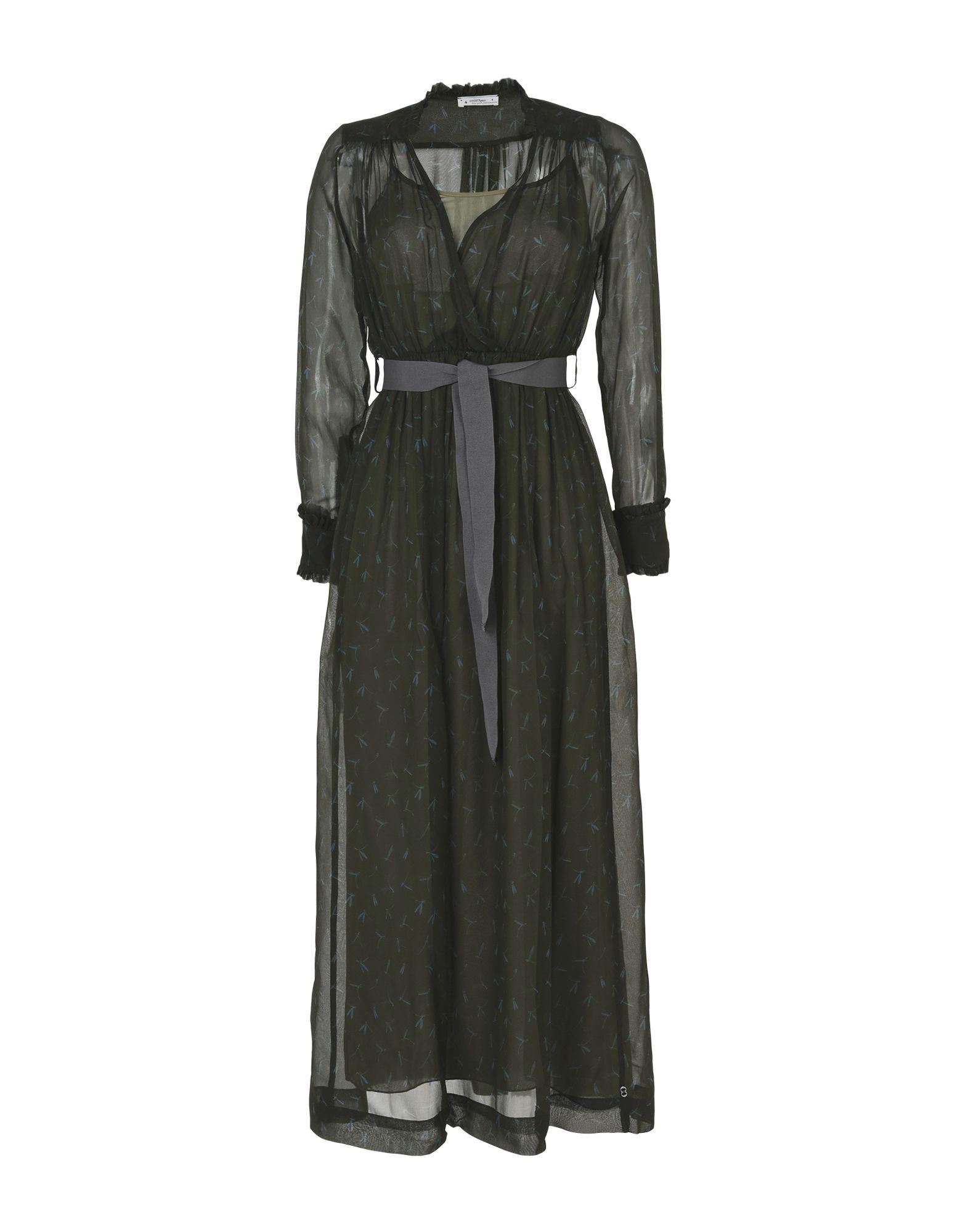 OTTOD'AME Длинное платье anais gillian комбинация