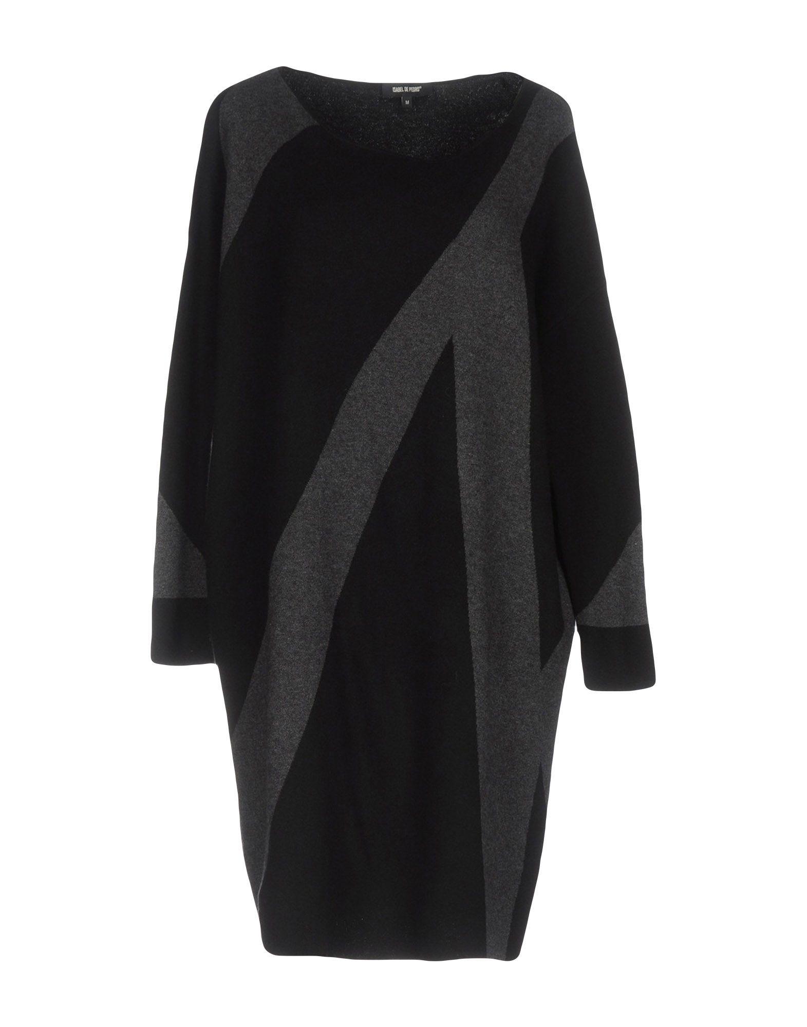 цена ISABEL DE PEDRO Короткое платье онлайн в 2017 году