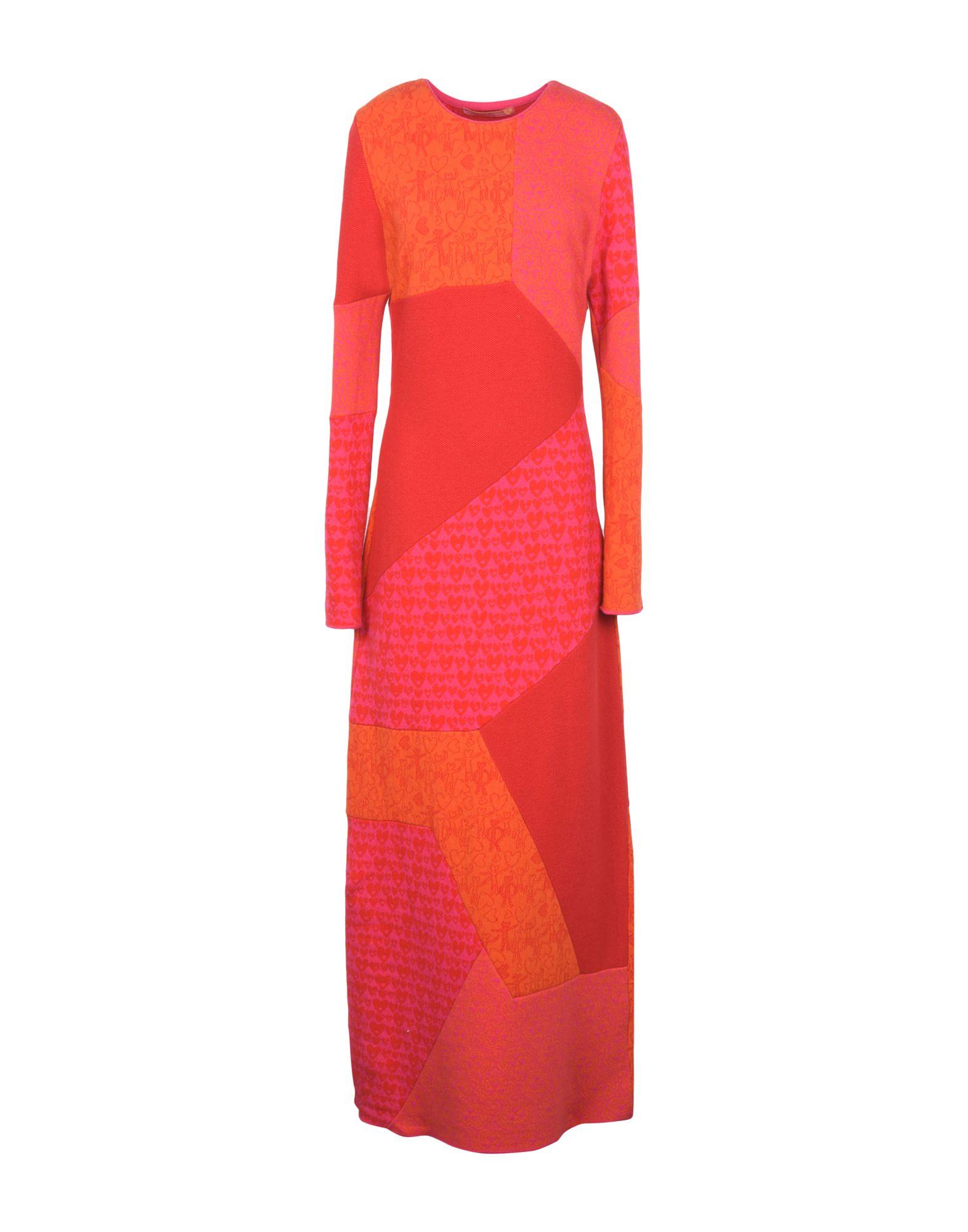 цена  AGATHA RUIZ DE LA PRADA Длинное платье  онлайн в 2017 году
