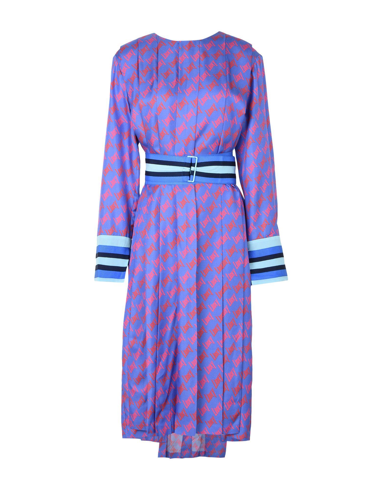 LUCKY CHOUETTE Платье длиной 3/4 lisa corti платье длиной 3 4