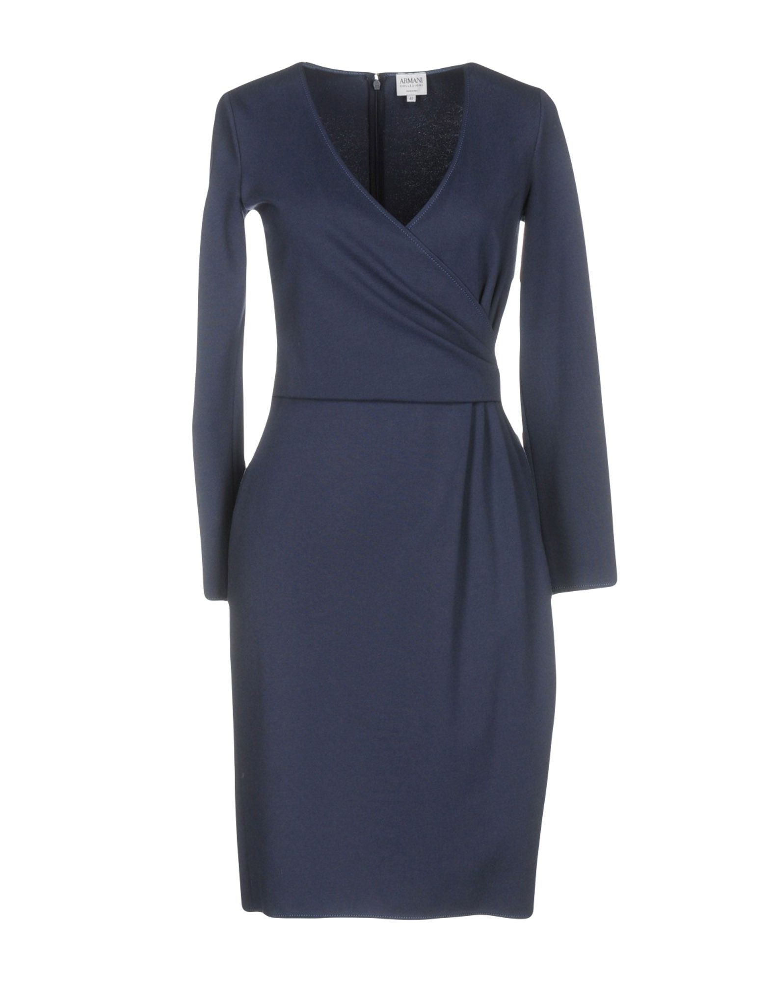ARMANI COLLEZIONI Платье до колена цены онлайн