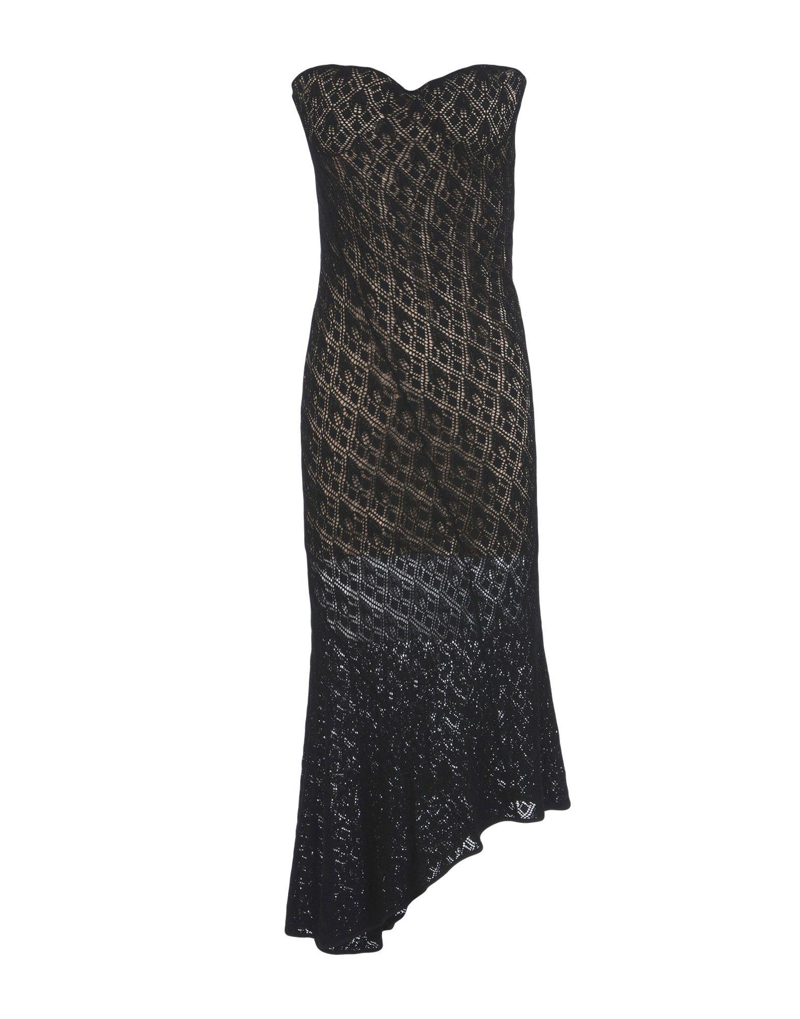 JULIEN MACDONALD Платье длиной 3/4 amy macdonald lingen