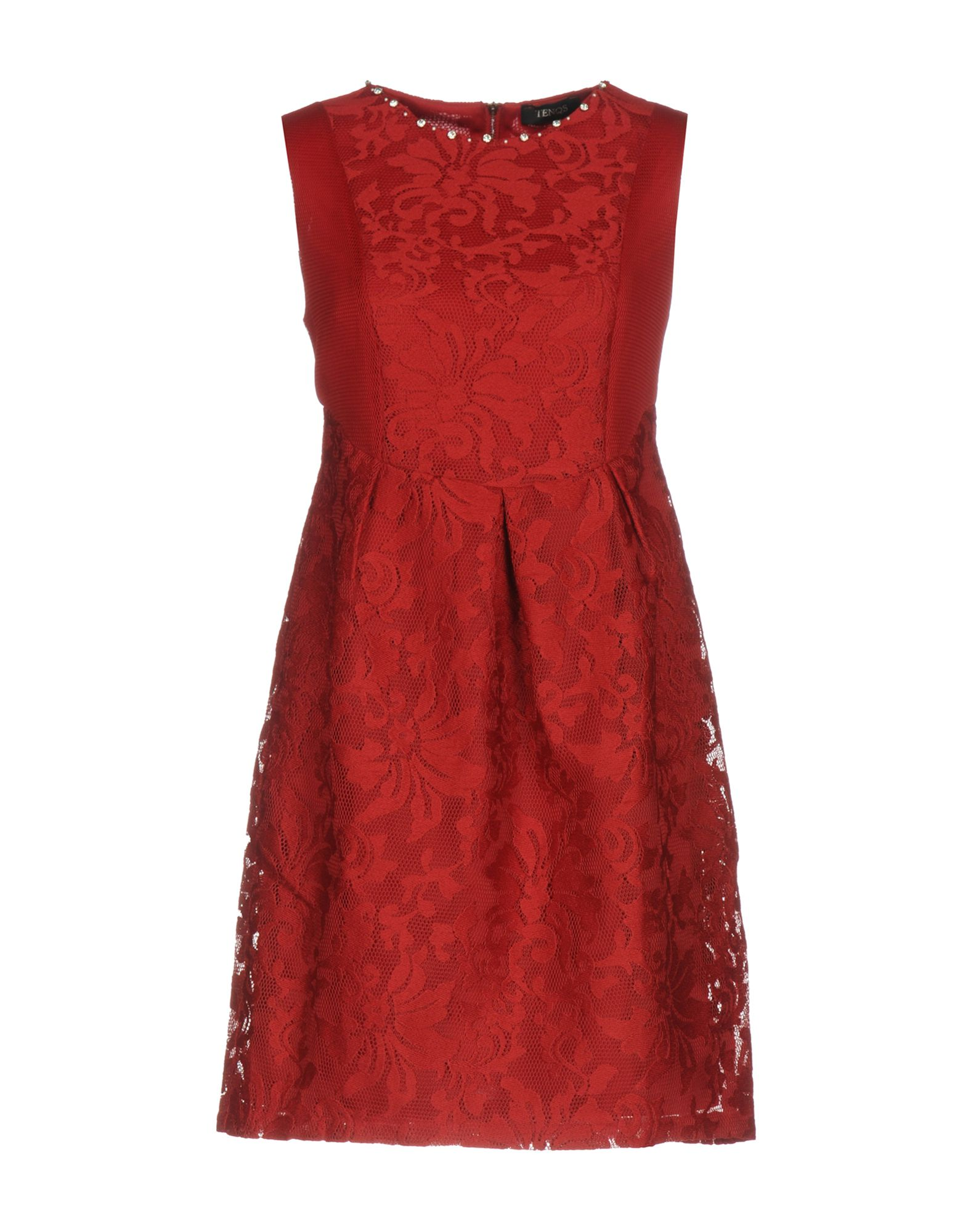 TENQS Короткое платье