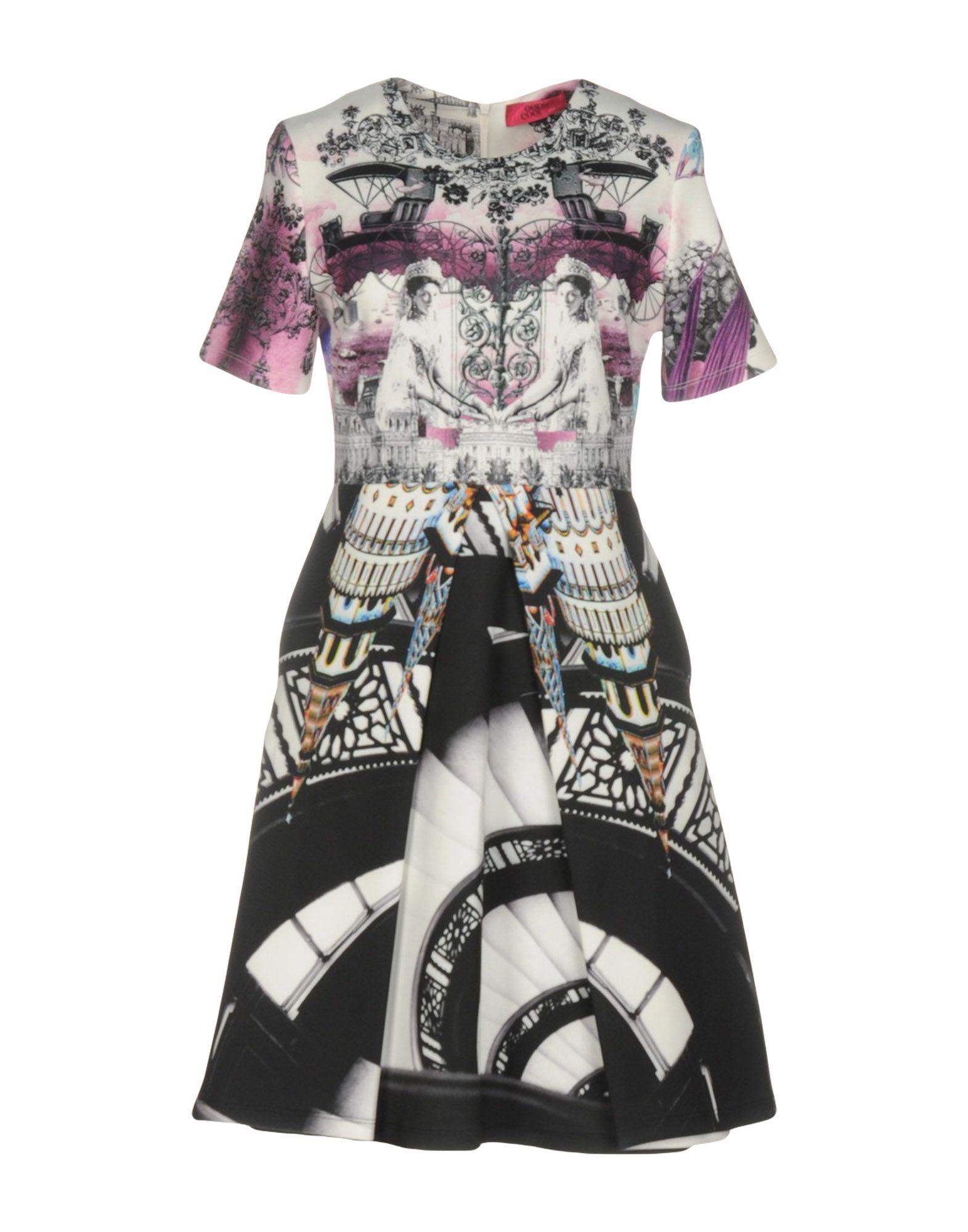 OOPS COOL Короткое платье