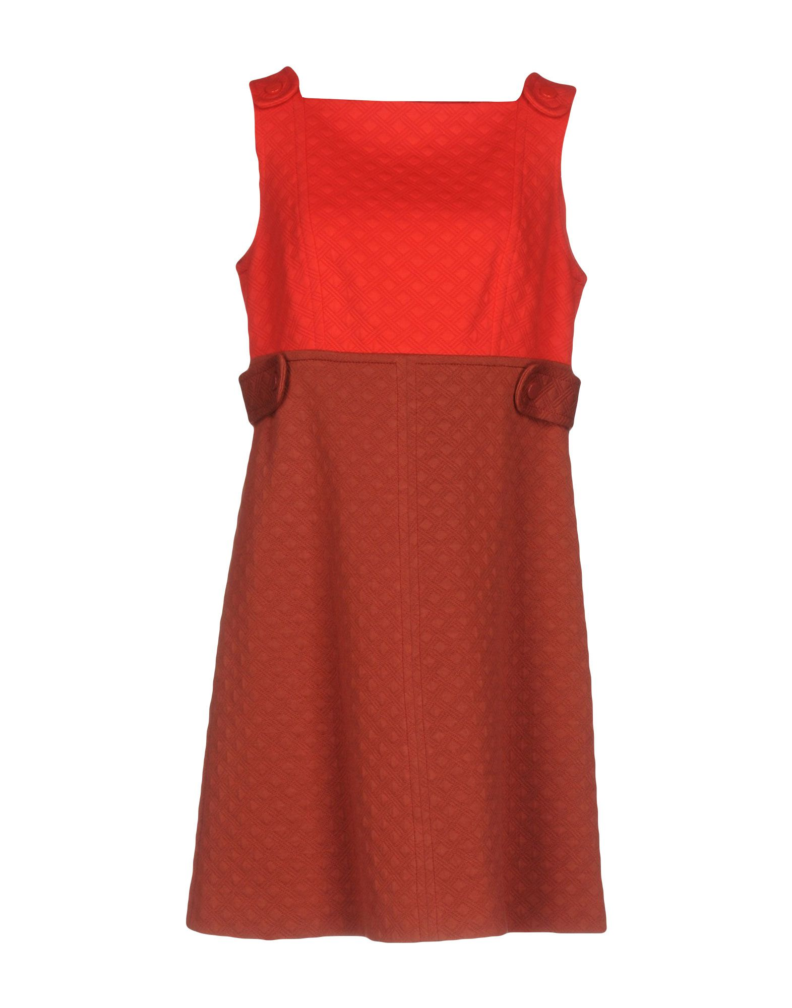 M MISSONI Damen Kurzes Kleid Farbe Rot Größe 6