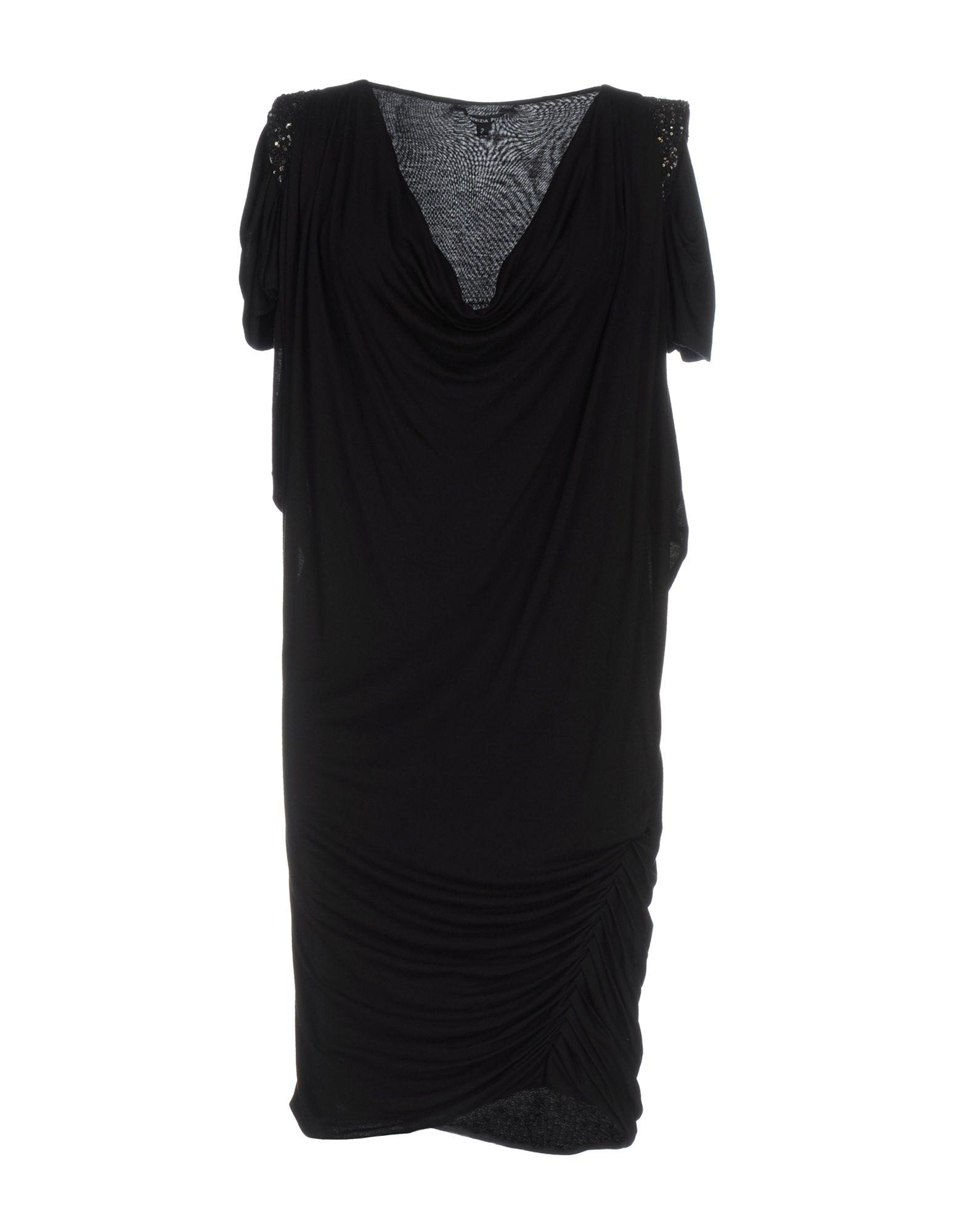 цена PATRIZIA PEPE Короткое платье онлайн в 2017 году
