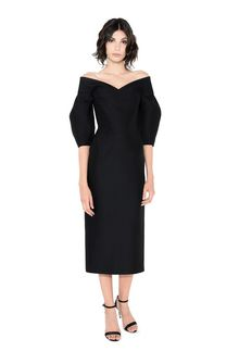 ALBERTA FERRETTI SPIRAL DRESS Mid-length Dress Woman f
