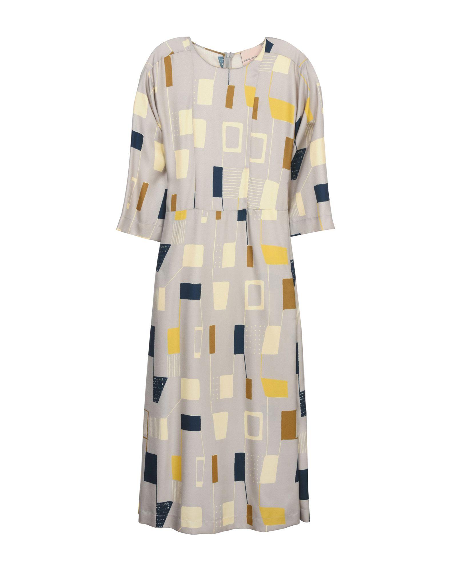ERIKA CAVALLINI Платье длиной 3/4 мужская футболка gildan slim fit t t lol 3013129