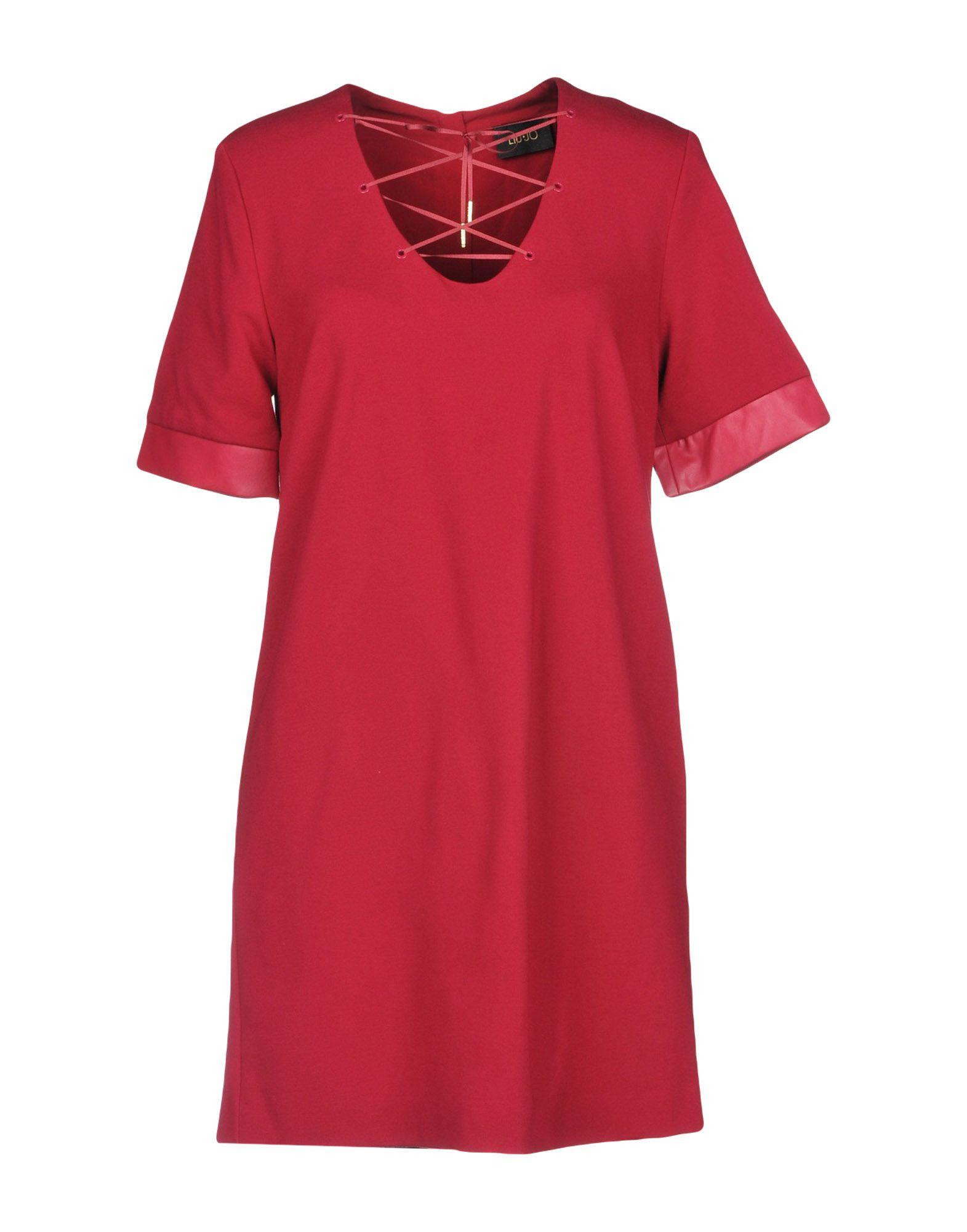 LIU •JO Короткое платье платье liu jo f18084f0618 22222
