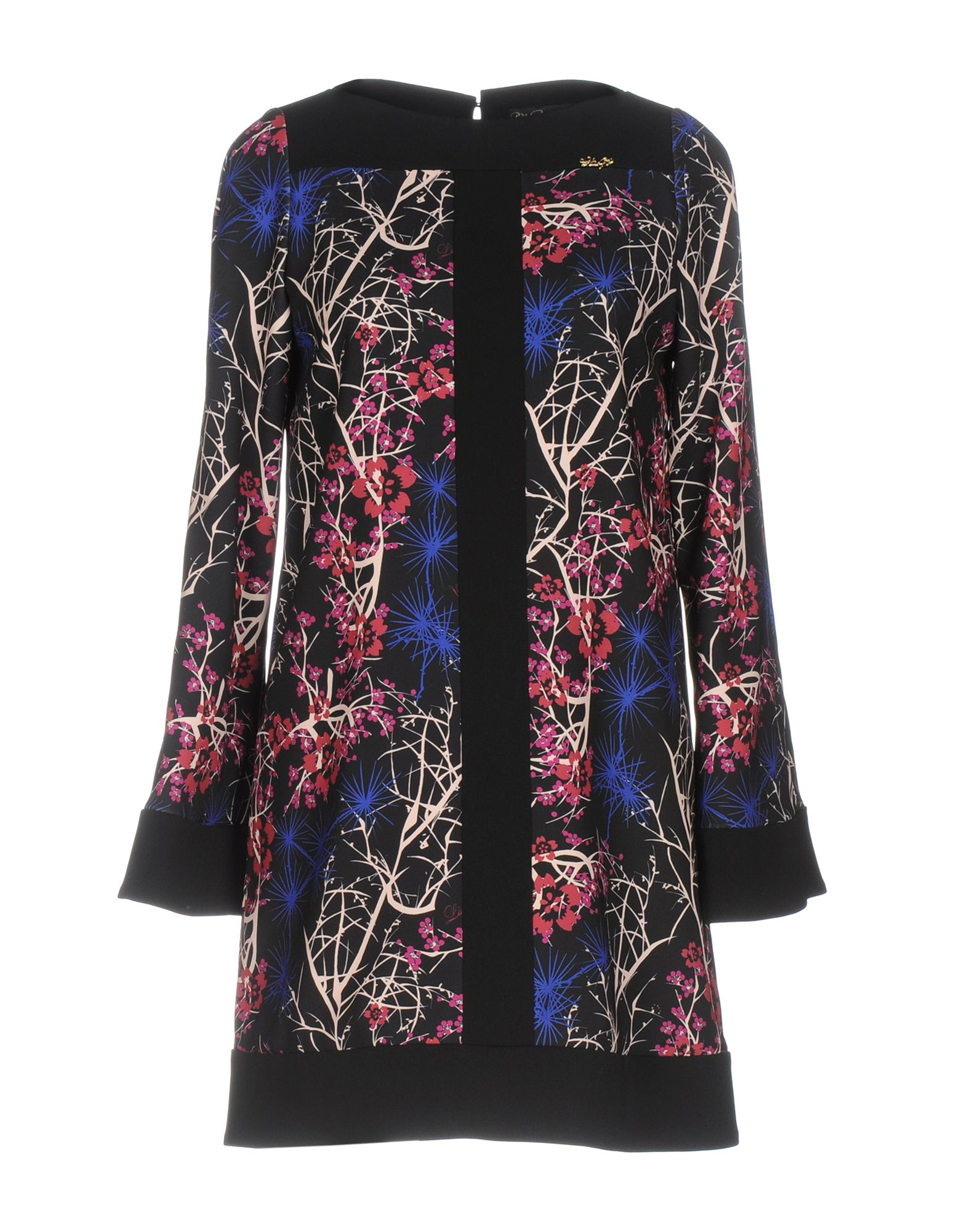 LES COCKTAILS DE LIU •JO Damen Kurzes Kleid Farbe Schwarz Größe 4