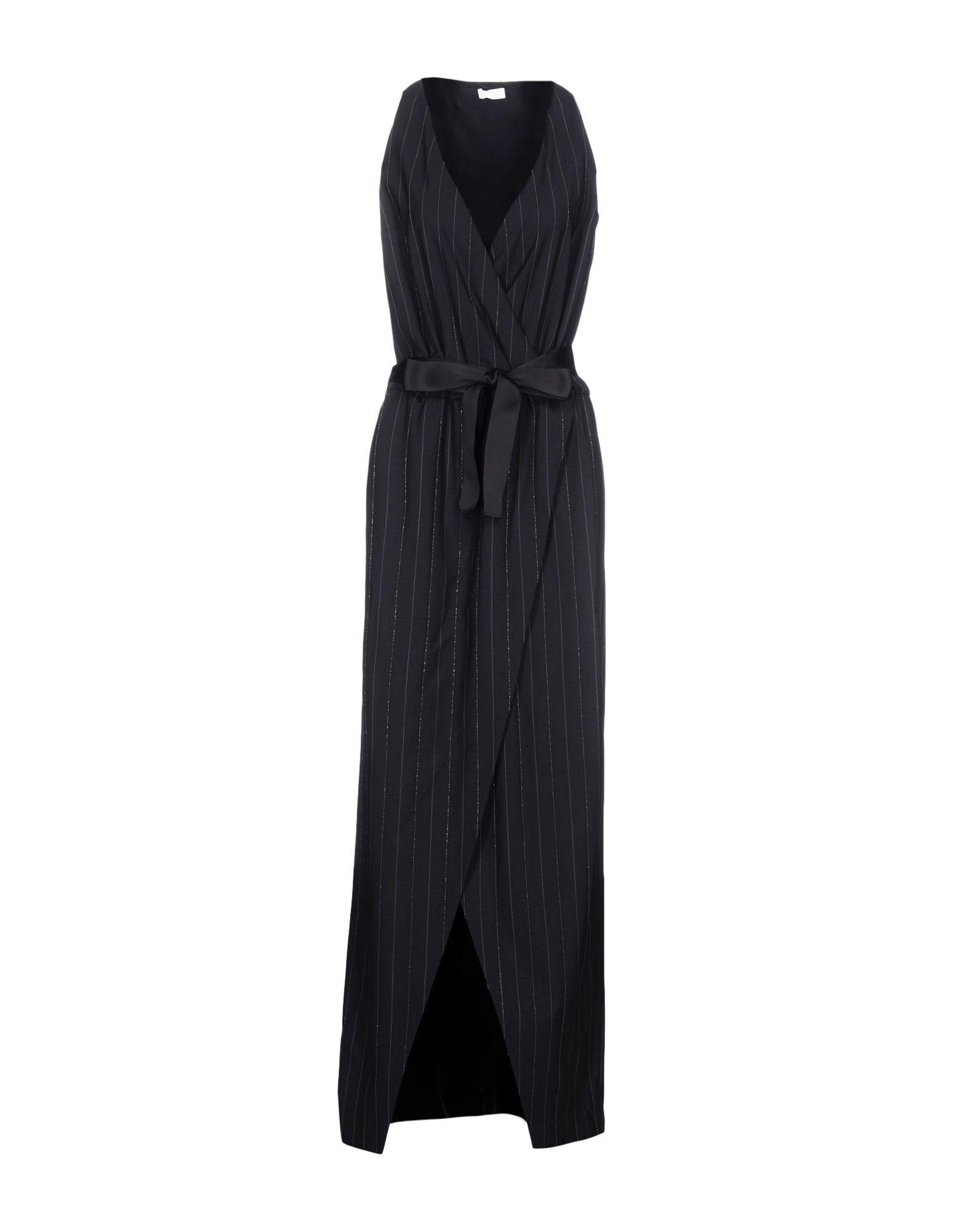 Фото BRUNELLO CUCINELLI Длинное платье. Купить с доставкой
