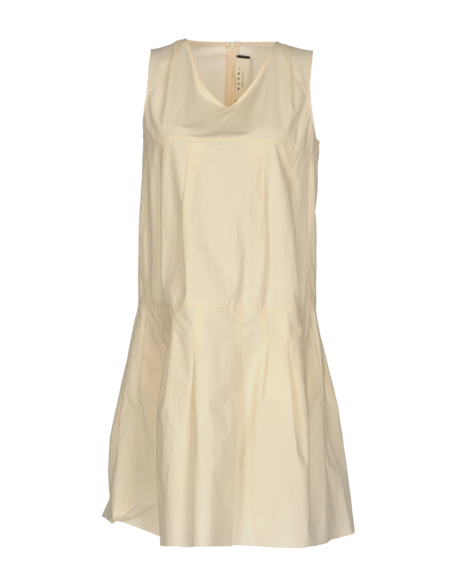 Robe courte marni femme. blanc ivoire. 36...