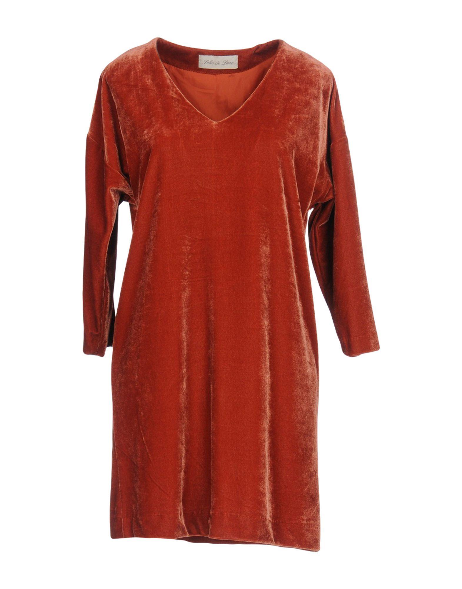 SOHO DE LUXE Короткое платье jc de castelbajac короткое платье