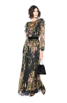 ALBERTA FERRETTI PALACE DROP DRESS Long Dress D a
