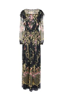 ALBERTA FERRETTI PALACE DROP DRESS Long Dress D d