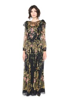 ALBERTA FERRETTI PALACE DROP DRESS Long Dress D f