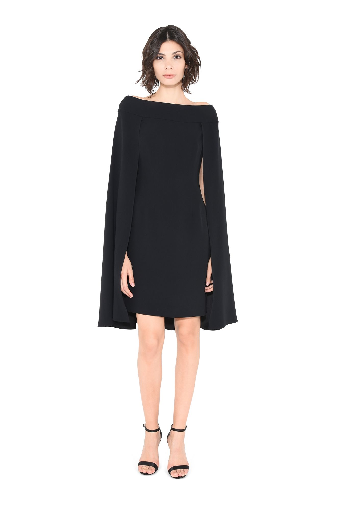 MYSTERY CAPE DRESS