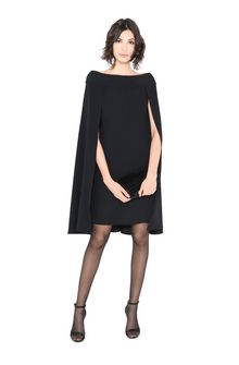 ALBERTA FERRETTI MYSTERY CAPE DRESS Short Dress D a