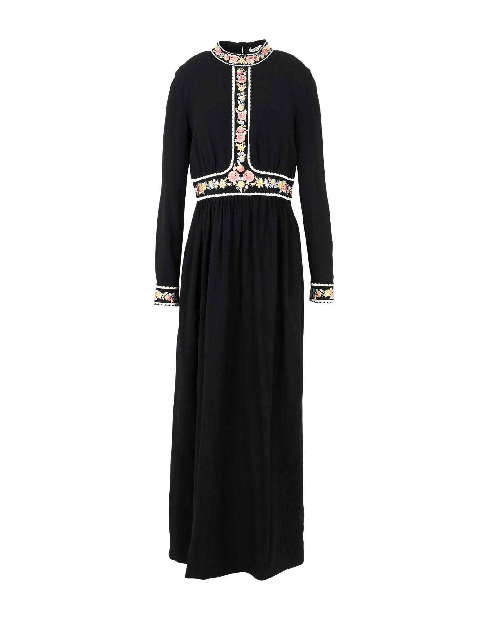 VILSHENKO Длинное платье vilshenko черное платье с ажурным верхом