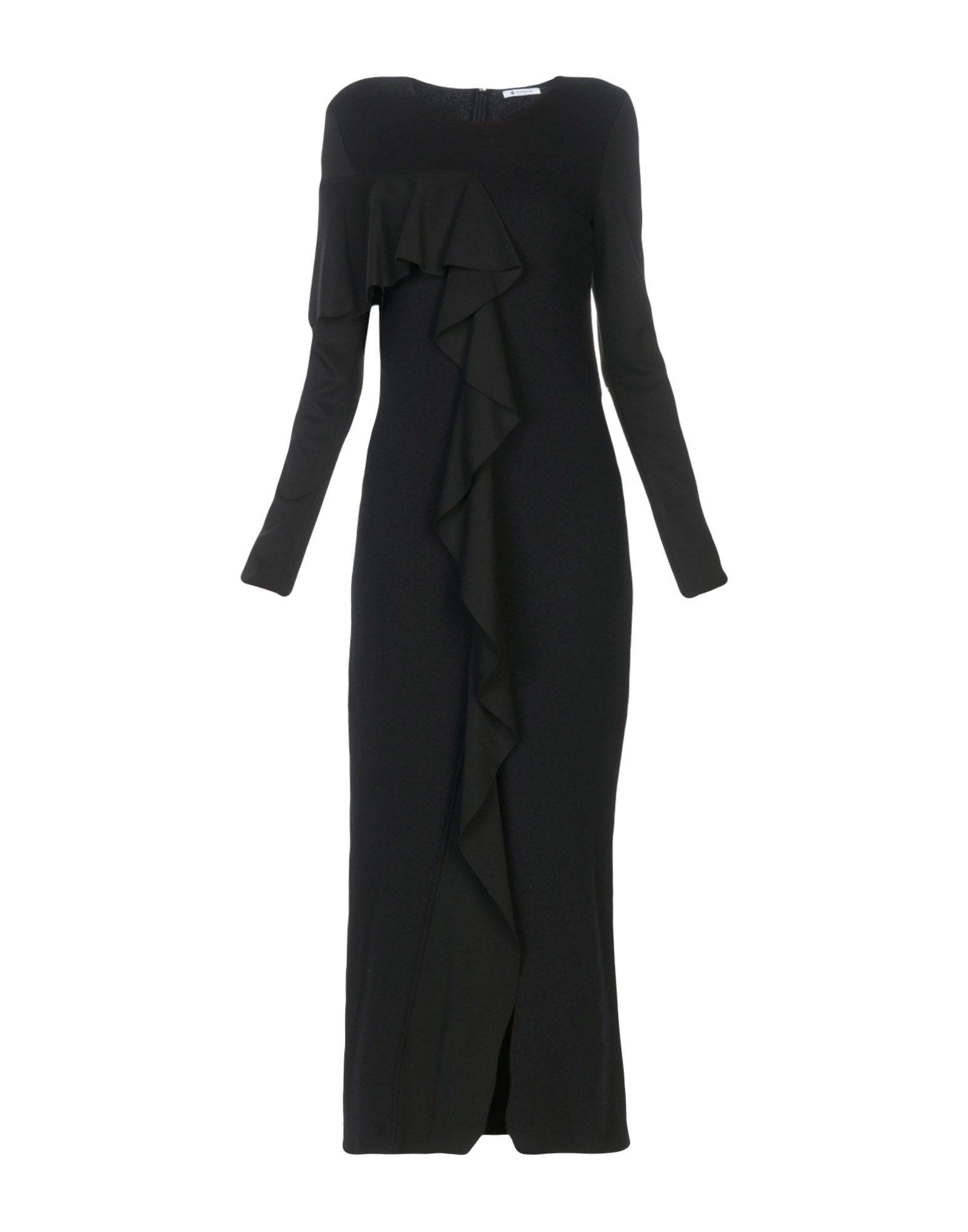 DONDUP Длинное платье вязаное платье