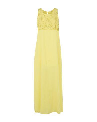 Фото - Женское длинное платье LUCKYLU  Milano желтого цвета