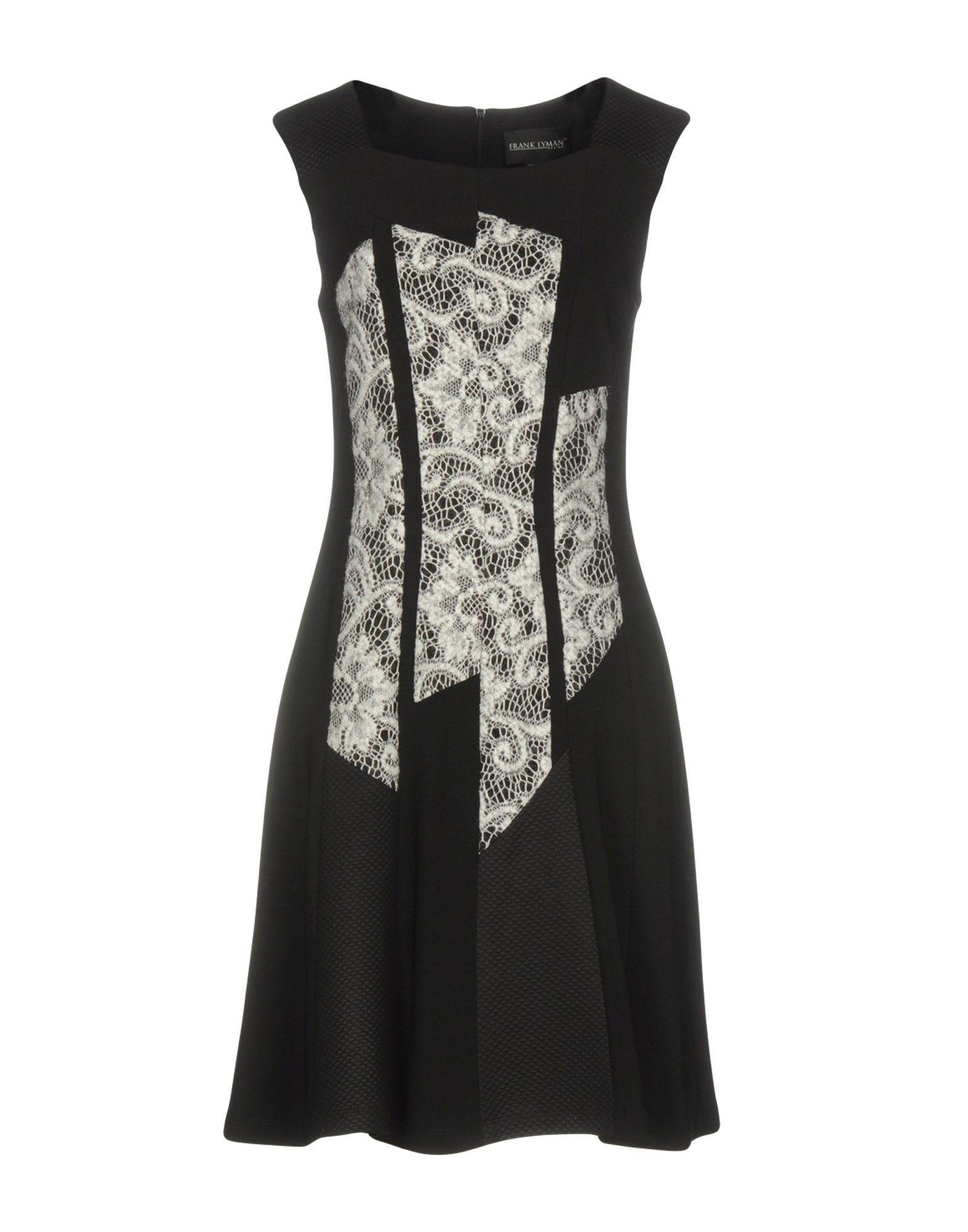 цена FRANK LYMAN Короткое платье онлайн в 2017 году