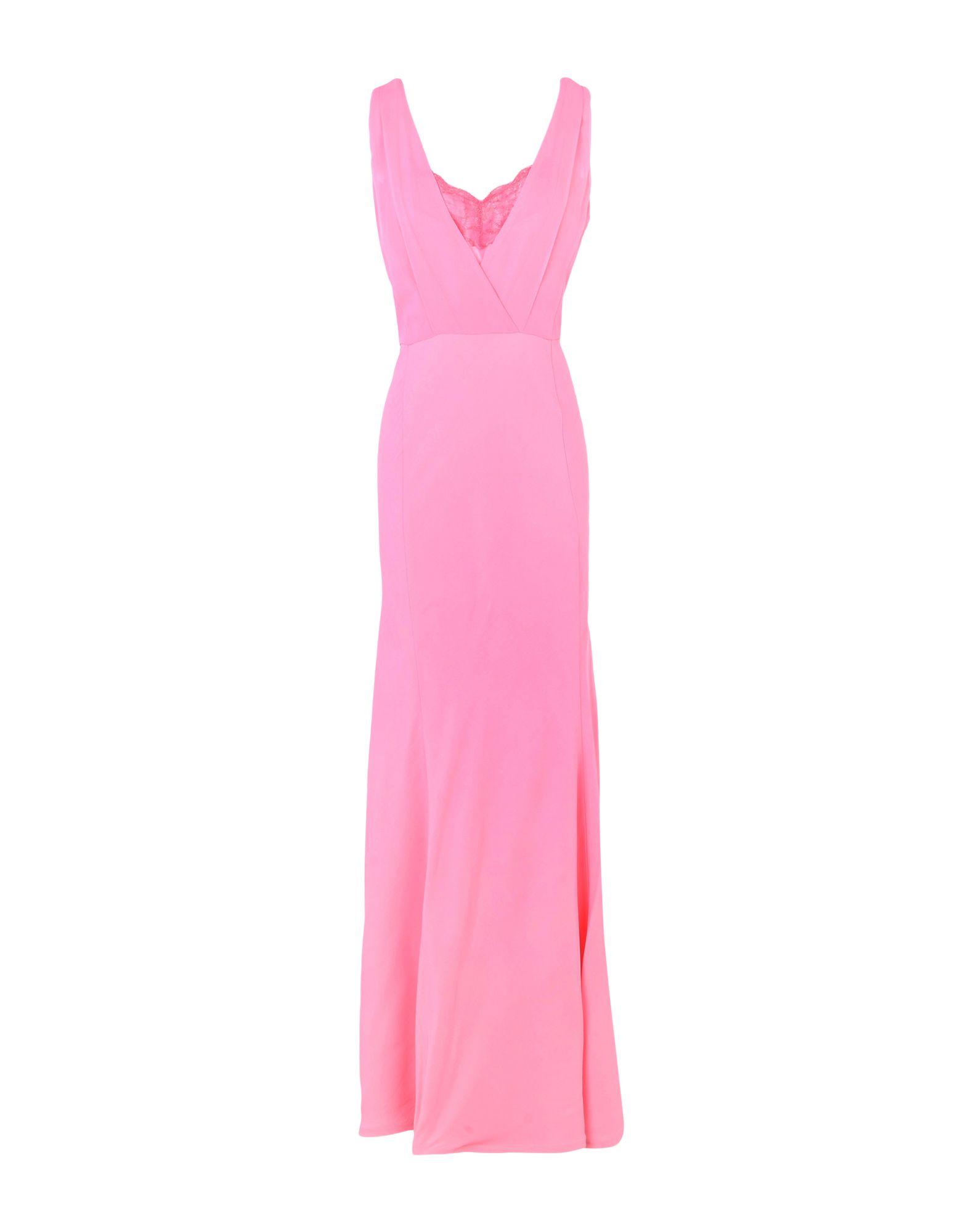 《セール開催中》ATOS LOMBARDINI レディース ロングワンピース&ドレス ピンク 40 64% アセテート 35% レーヨン 1% ポリウレタン