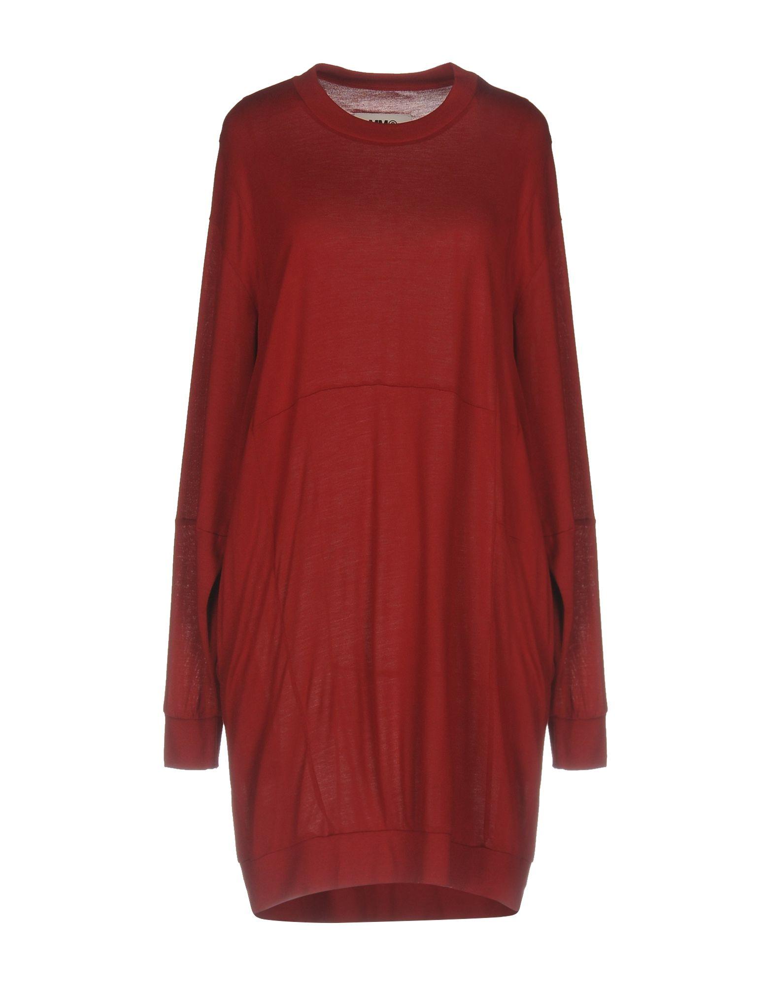MM6 MAISON MARGIELA Короткое платье цена 2017