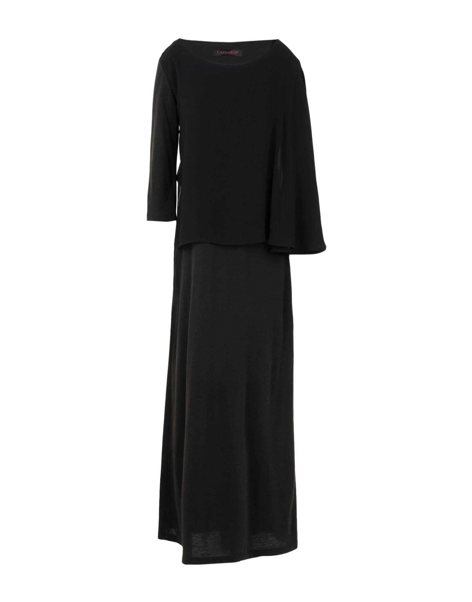 CAFèNOIR Платье длиной 3/4 guttha платье длиной 3 4