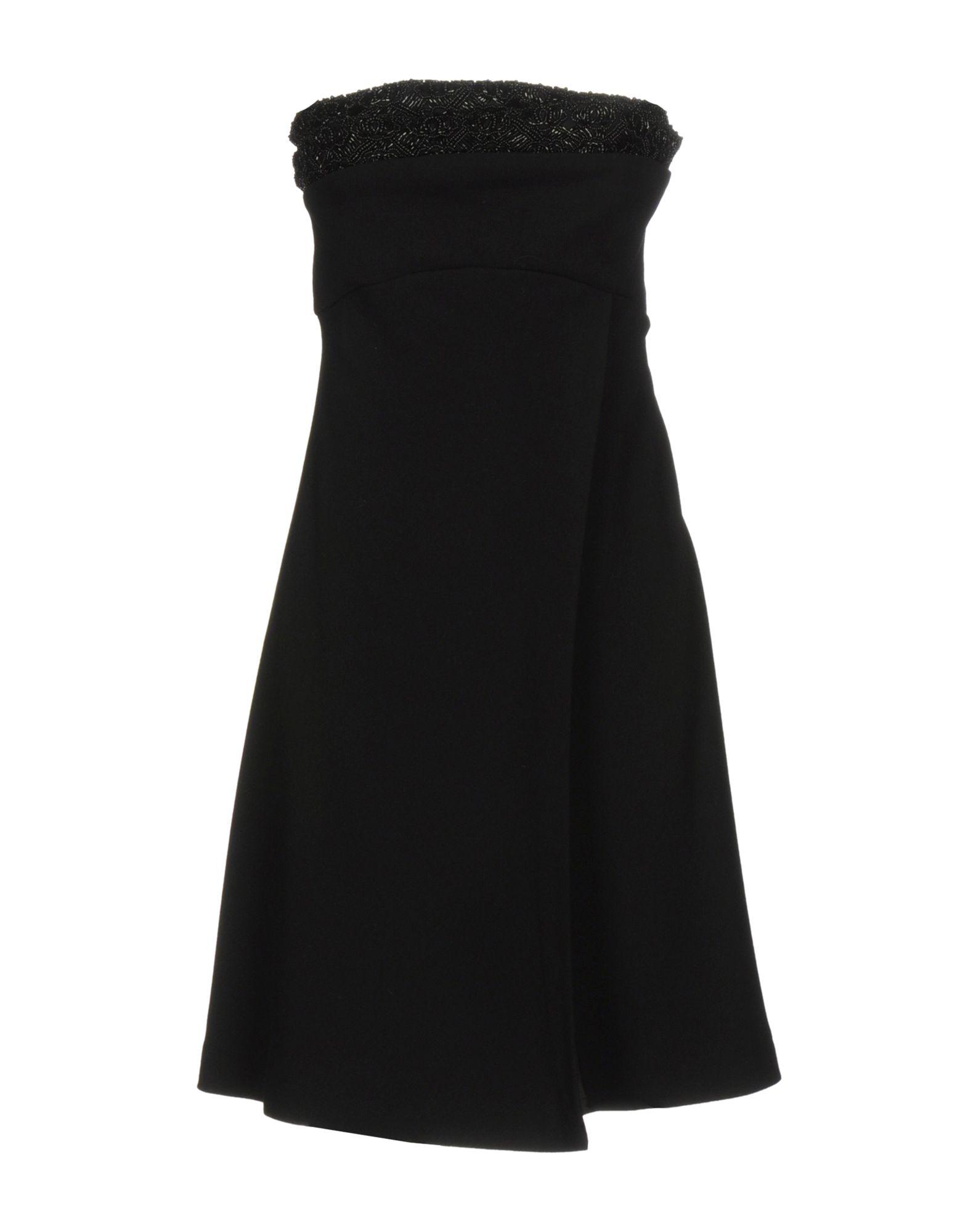 CARLA CARINI Короткое платье цены онлайн