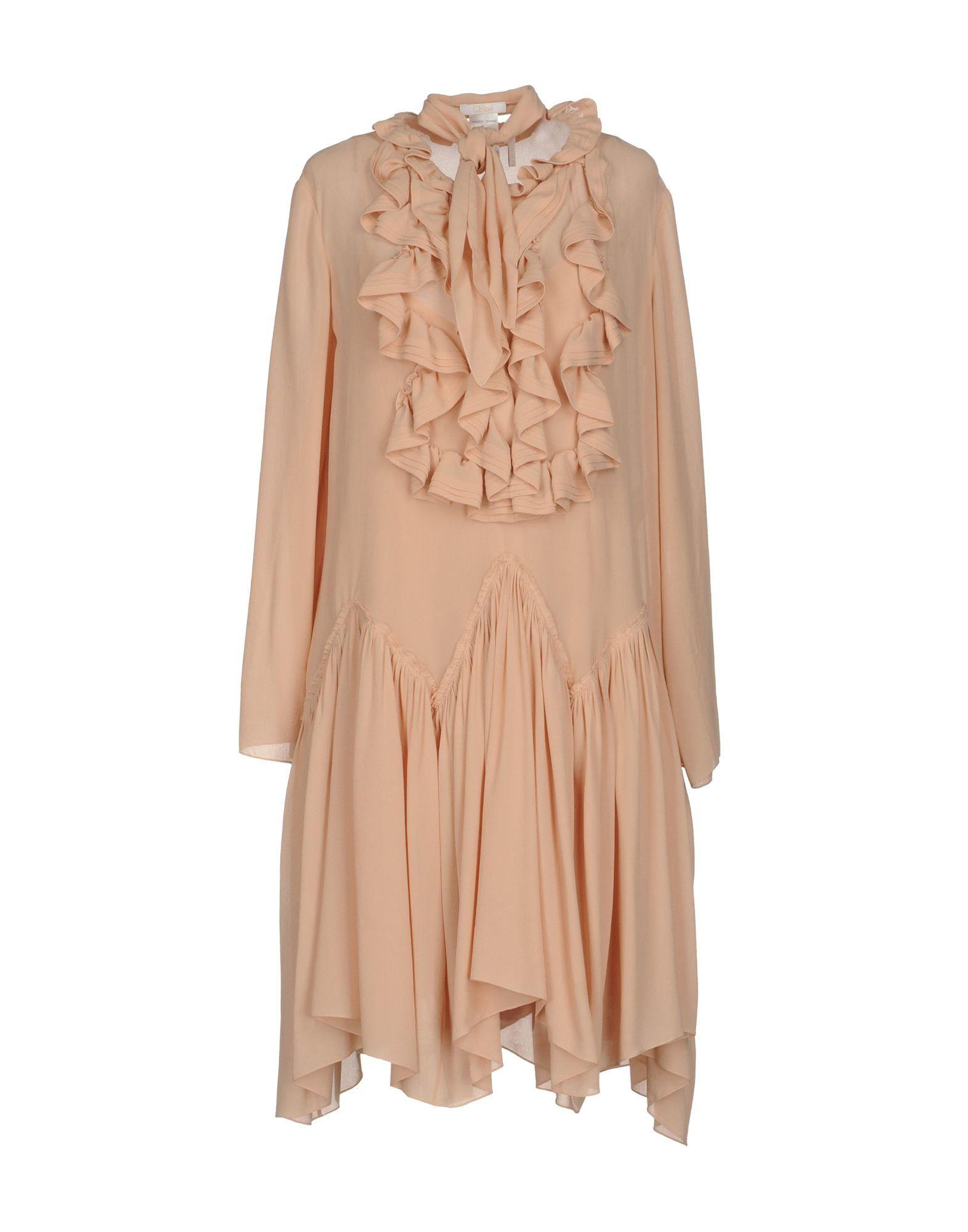 Фото CHLOÉ Платье до колена. Купить с доставкой