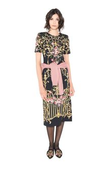 ALBERTA FERRETTI PALACE TULIP DRESS Mid-length Dress D a