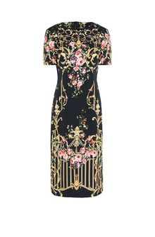 ALBERTA FERRETTI PALACE TULIP DRESS Mid-length Dress D d
