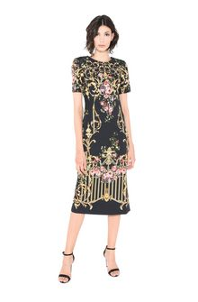 ALBERTA FERRETTI PALACE TULIP DRESS Mid-length Dress Woman f
